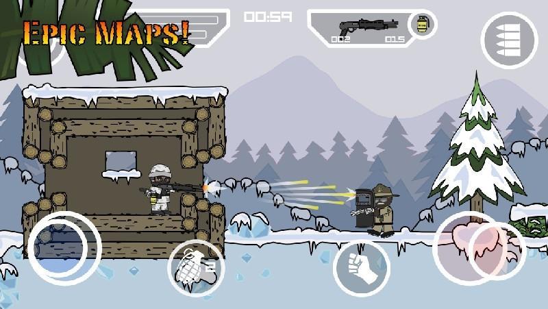 Doodle Army 2 Mini Militia APK MOD imagen 4