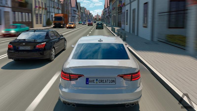 Driving Zone Germany APK MOD imagen 1