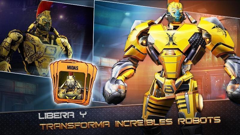 Real Steel World Robot Boxing APK MOD imagen 3