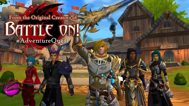 AdventureQuest 3D APK MOD imagen 1
