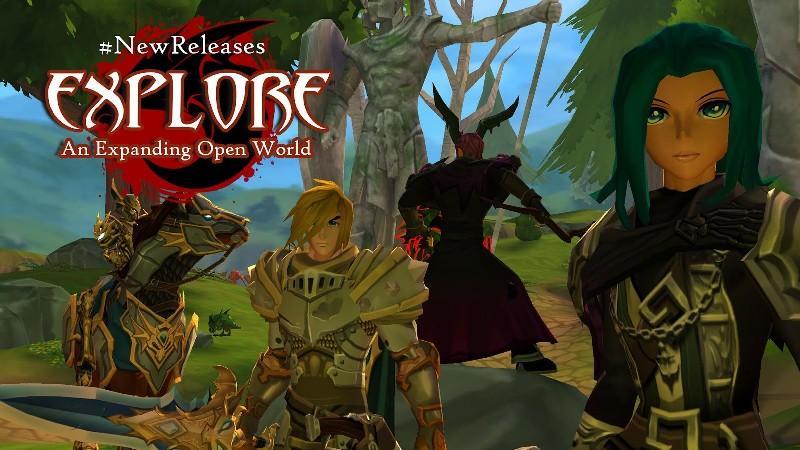 AdventureQuest 3D APK MOD imagen 4