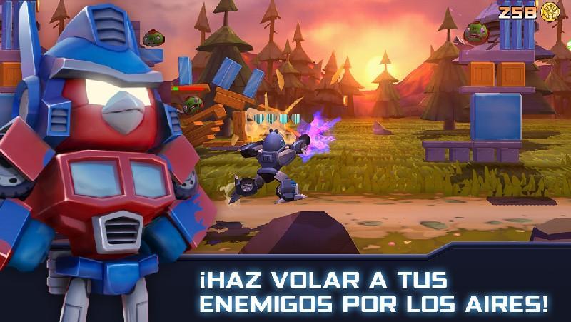 Angry Birds Transformers APK MOD imagen 1