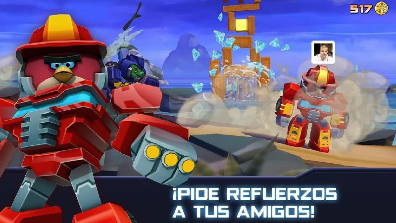 Angry Birds Transformers APK MOD imagen 3