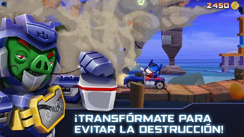 Angry Birds Transformers APK MOD imagen 4