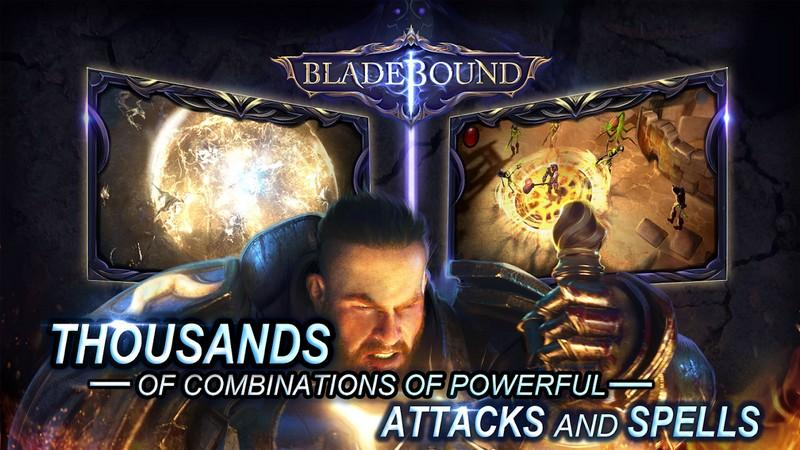 Bladebound hack and slash RPG APK MOD imagen 1
