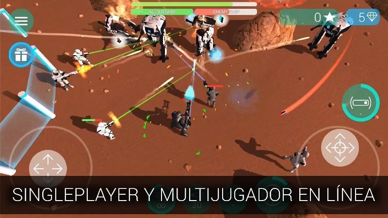 CyberSphere Online Shooter APK MOD imagen 1