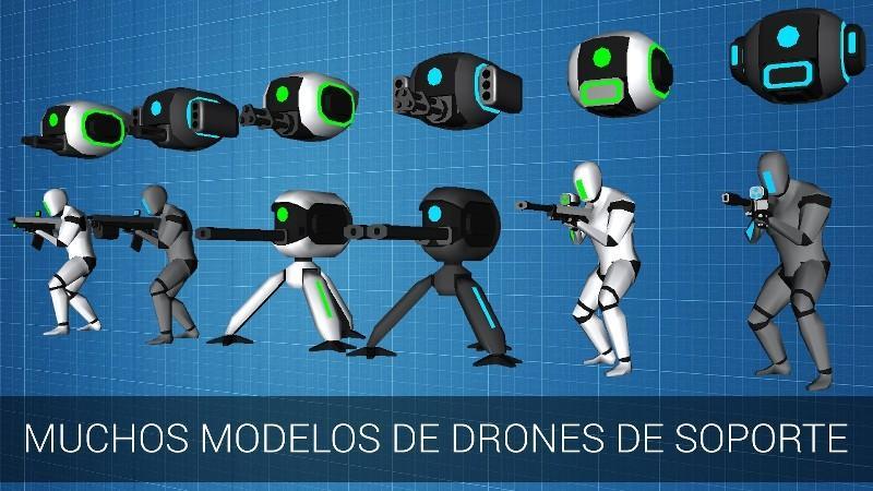 CyberSphere Online Shooter APK MOD imagen 4