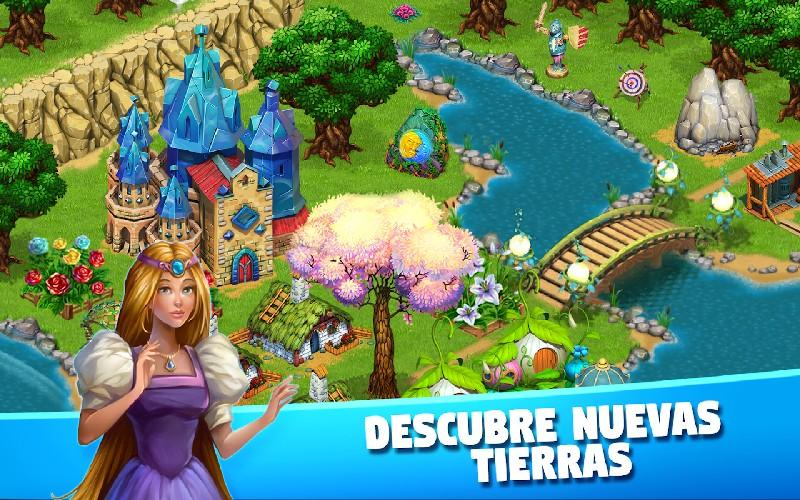 Fairy Kingdom World of Magic APK MOD imagen 2