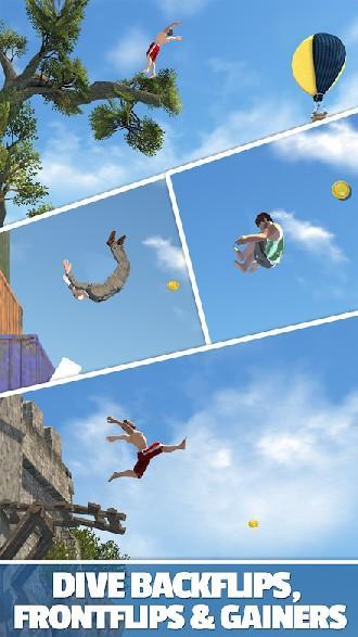 Flip Diving APK MOD imagen 2