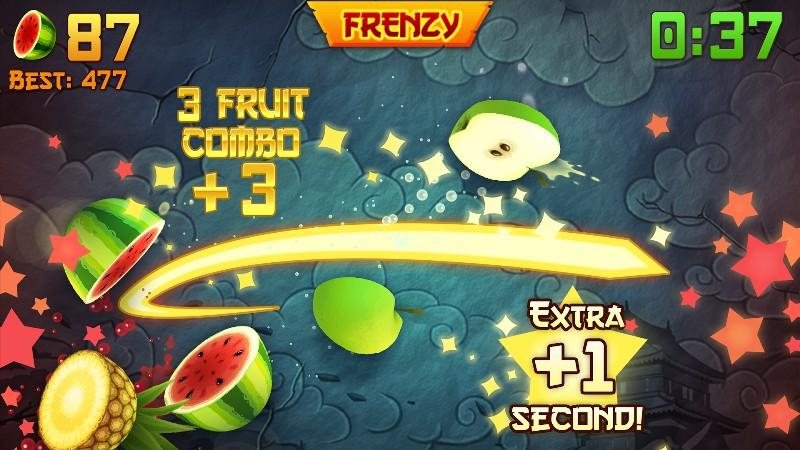 Fruit Ninja APK MOD imagen 1