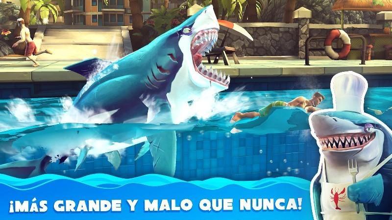 Hungry Shark World APK MOD imagen 1
