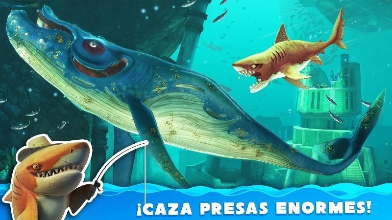 Hungry Shark World APK MOD imagen 2