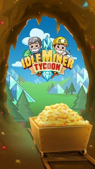 Idle Miner Tycoon APK MOD imagen 1