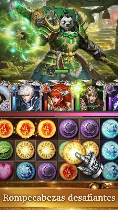 Legendary Game of Heroes APK MOD imagen 1