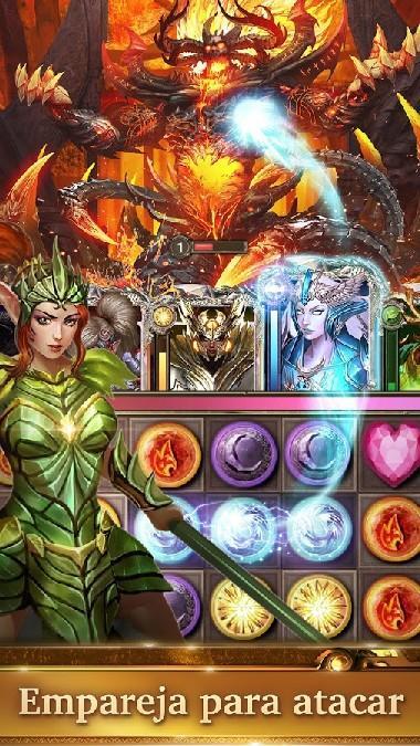 Legendary Game of Heroes APK MOD imagen 2