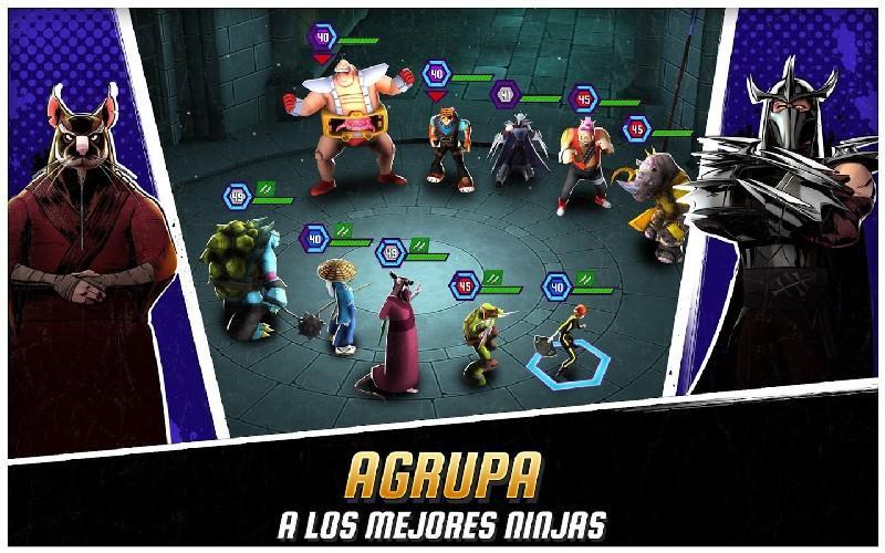 Ninja Turtles Legends APK MOD imagen 1