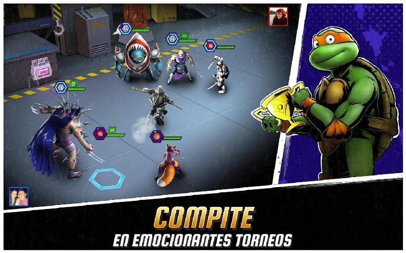 Ninja Turtles Legends APK MOD imagen 3