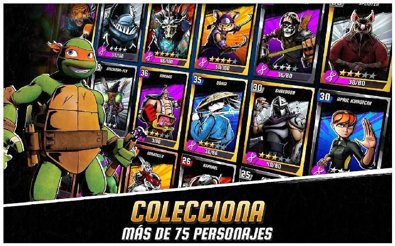 Ninja Turtles Legends APK MOD imagen 4