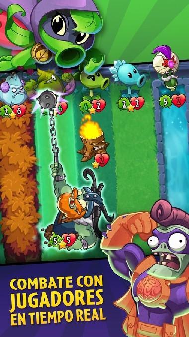 Plants vs Zombies Heroes APK MOD imagen 1