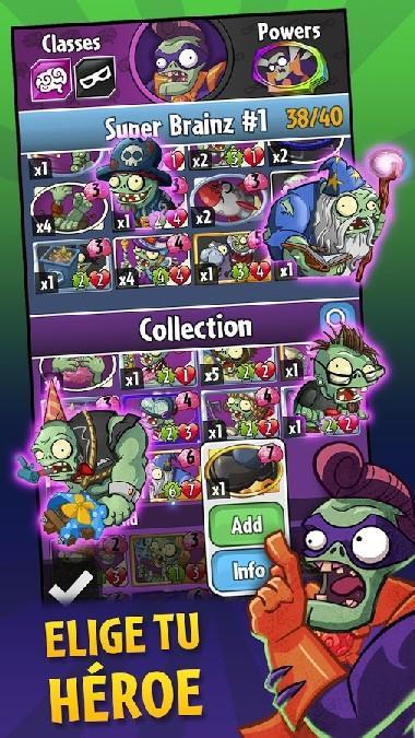 Plants vs Zombies Heroes APK MOD imagen 2