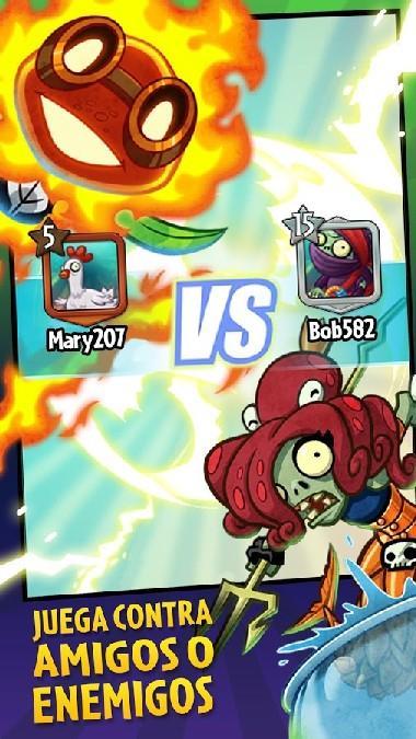Plants vs Zombies Heroes APK MOD imagen 3