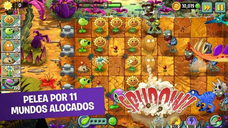 Plants vs. Zombies™ 2 APK MOD imagen 1