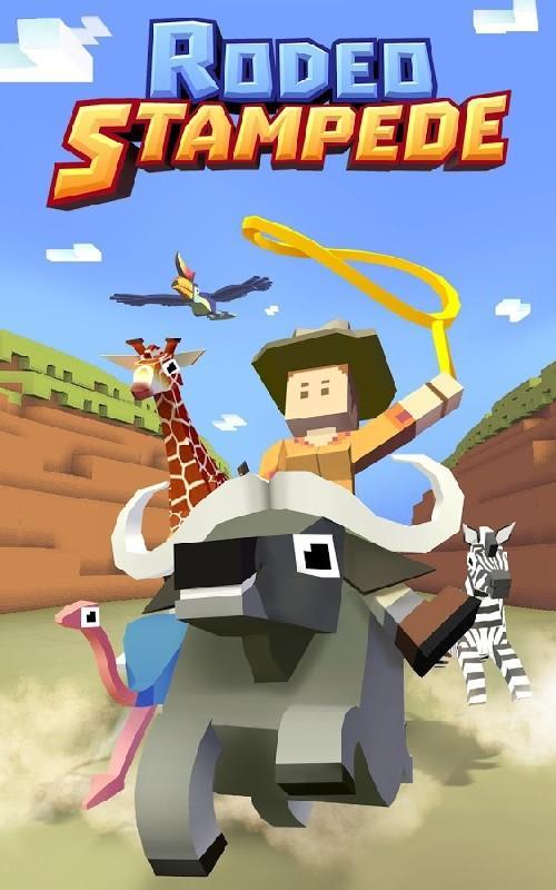 Rodeo Stampede Sky Zoo Safari APK MOD imagen 1