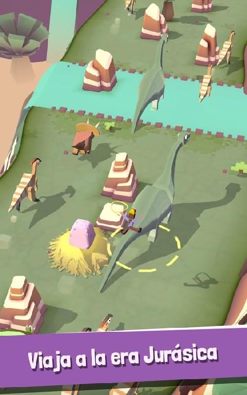 Rodeo Stampede Sky Zoo Safari APK MOD imagen 2