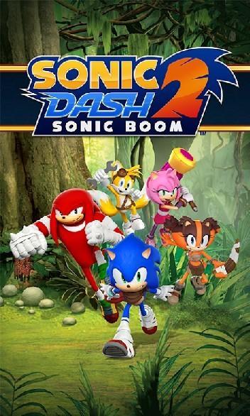 Sonic Dash 2 Sonic Boom APK MOD imagen 1