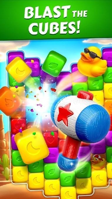 Toon Blast APK MOD imagen 2