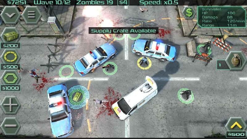 Zombie Defense APK MOD imagen 3
