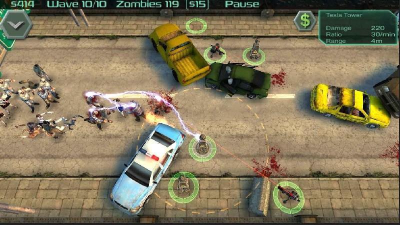 Zombie Defense APK MOD imagen 4