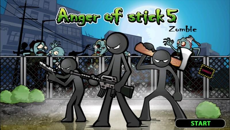 Anger of stick 5 APK MOD imagen 1