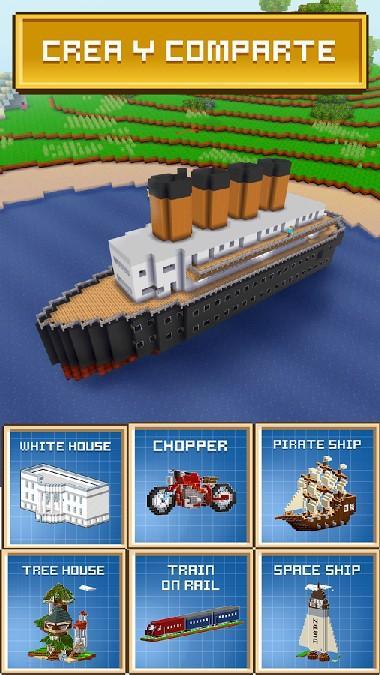 Block Craft 3D: Building Game APK MOD imagen 4