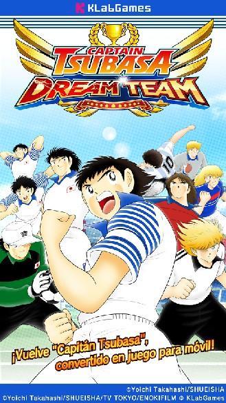 Captain Tsubasa Dream Team APK MOD imagen 1
