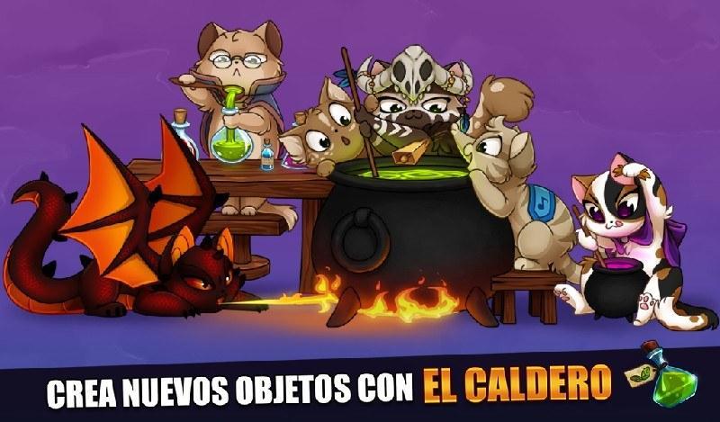 Castle Cats APK MOD imagen 4