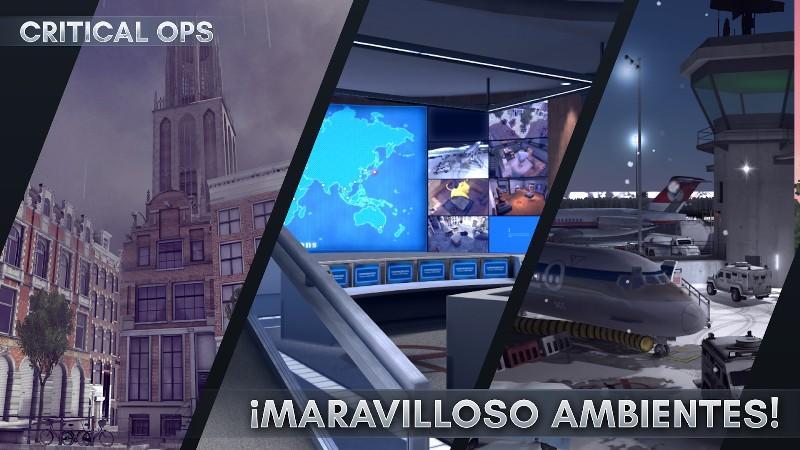Critical Ops APK MOD imagen 4