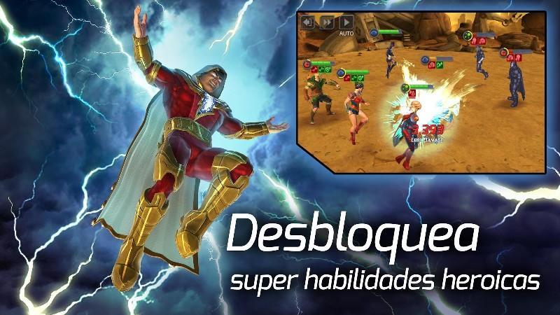 DC Legends Battle for Justice APK MOD imagen 4