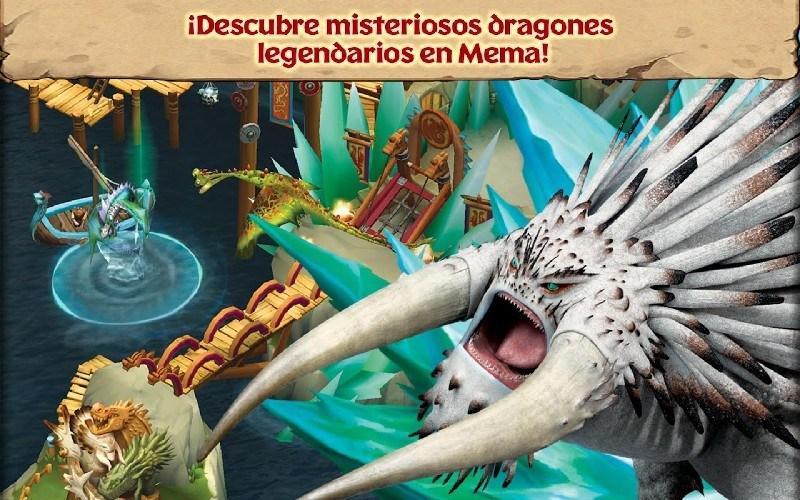 Dragons Rise of Berk APK MOD imagen 4