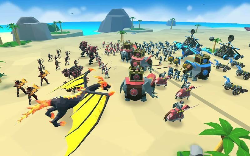 Epic Battle Simulator 2 APK MOD imagen 3