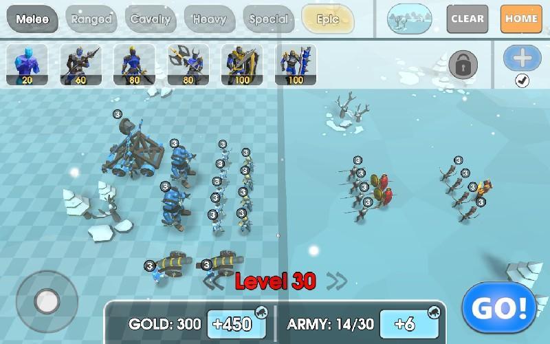Epic Battle Simulator 2 APK MOD imagen 4