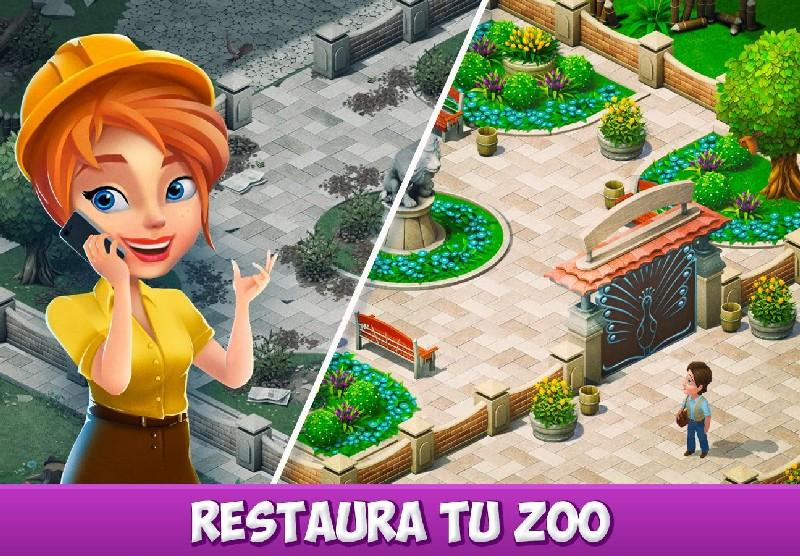 Family Zoo The Story APK MOD imagen 3