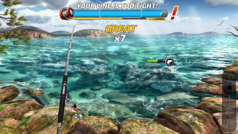 Fishing Clash Catching Fish Game. Bass Hunting 3D APK MOD imagen 1