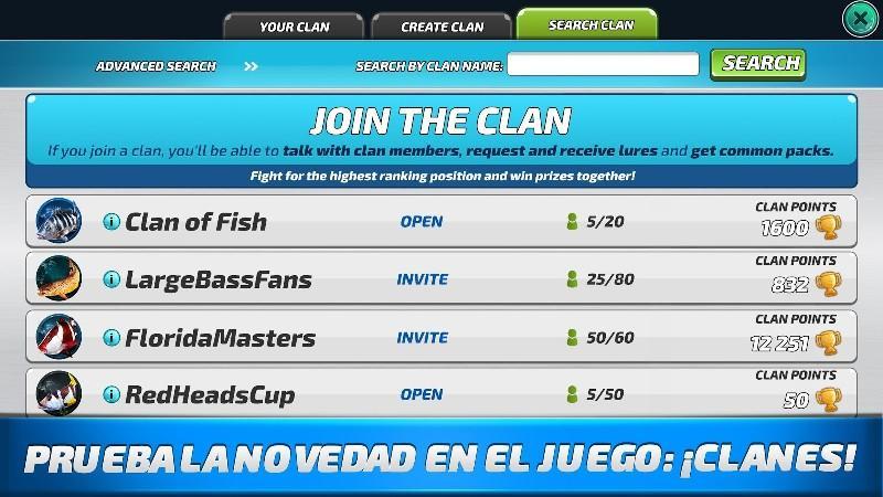 Fishing Clash Catching Fish Game. Bass Hunting 3D APK MOD imagen 2
