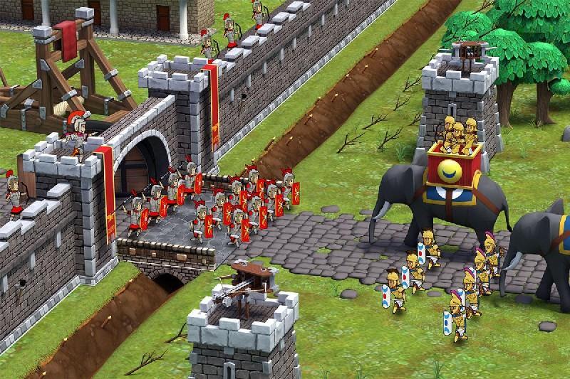 Grow Empire: Rome APK MOD imagen 2