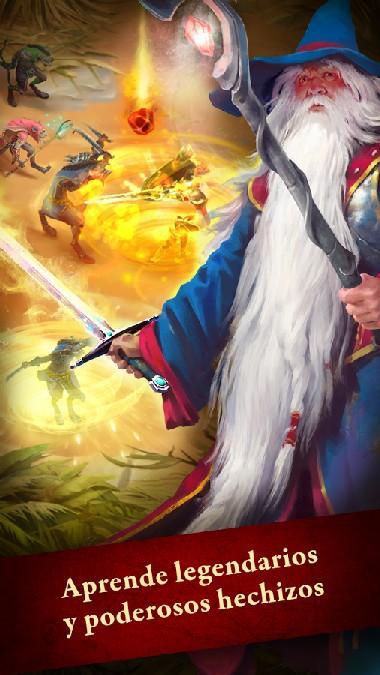 Guild of Heroes - fantasy RPG APK MOD imagen 2