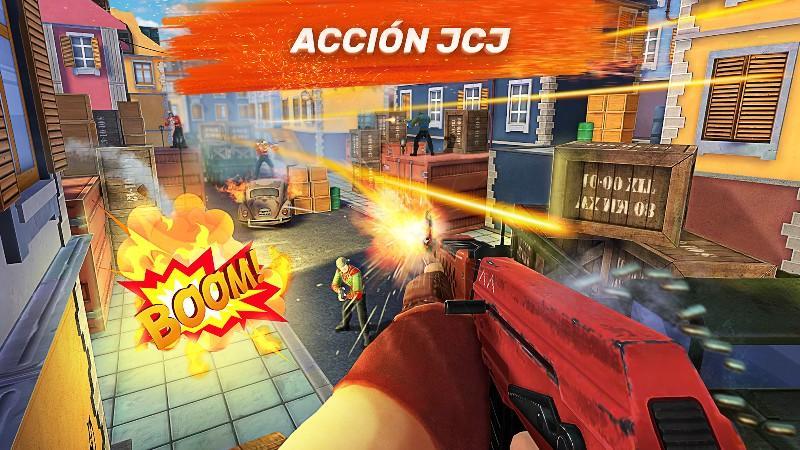 Gods of Boom - Online Shooter APK MOD imagen 1