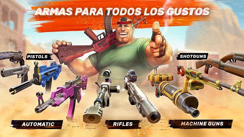 Gods of Boom - Online Shooter APK MOD imagen 3