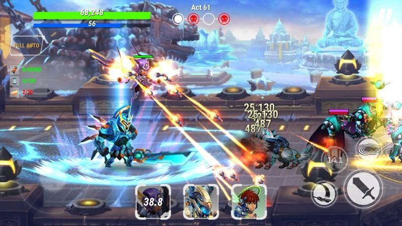 Heroes Infinity Gods Future Fight APK MOD imagen 3