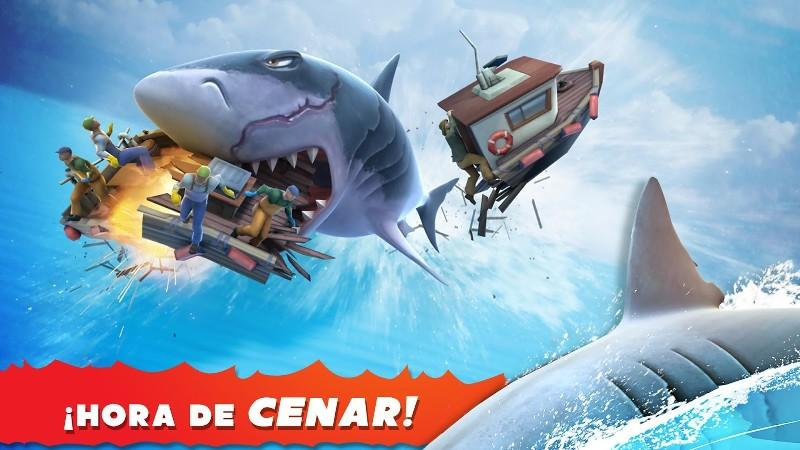 Hungry Shark Evolution APK MOD imagen 1